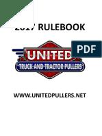 United Pullers 2018 Rulebook