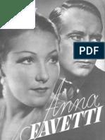 Film Kurier #2796 Anna Favetti 1938