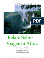 Relato Sobre Viagem à África - William Branham