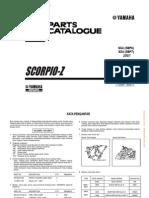 Yamaha - SX4-Scorpio-Z Parts Catalogue (2007)