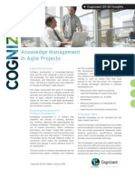 Knowledge Management in Agile Projects