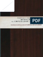 Gayangos Pascual de - Cartas Y Relaciones de Hernan Cortes a Carlos V