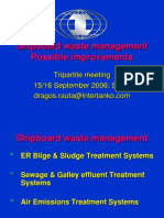 Waste Management For ships