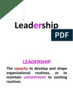 Unit10 Leadership Notes