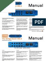 Vertigo Vsc-2 Manual En