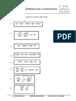 3. Clasificacion de Ecuaciones Diferenciales_DEA 17.02.2012