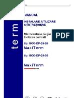 Manual Utilizare Centrala Termica Maxiterm Turbo[1]