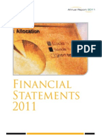 NBP Standalone Financials FTYE December 2011