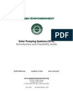 Solar Pumping Systems Guide 2007