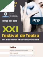 Xxi Festival Folleto