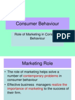 3Mkting Role_Consumer Behaviour_Sem III- Comp