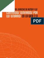 Futuro Derechos Autor Contenidos Generados Usuarios Web 2.0