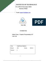 Course File CP