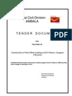 Tender Document DLF Phase-I