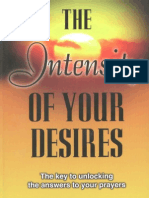 The Intensity of Your Desires - Carolyn Savelle