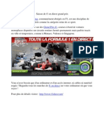 Saison de f1 en direct grand prix