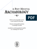 Written Sources Post-medieval Archaeology
