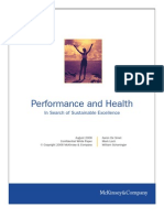 Aaron de Smet, Et Al.-performance and Health