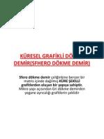 KÜRESEL GRAFİKLİ DÖKME DEMİR(SFHERO DÖKME DEMİR)