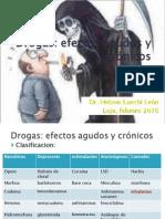 Drogas Efectos Agudo Ycronic