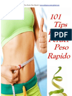 101 Tips Para Perder Peso Rápido-oferta