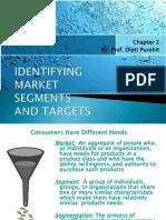 Market segmentation by Dipti Purohit
