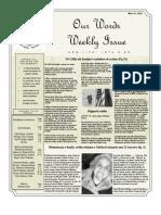 Newsletter Volume 4 Issue 11