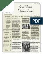 Newsletter Volume 4 Issue 14