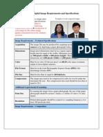 US Passport Digital Image Requirements