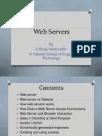 Web Servers Nizam