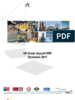 UP Grade Diciembre 2011 Unysoft ERP Final
