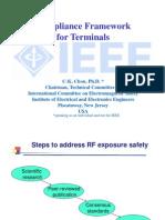 Compliance Framework, CK Chou, IEEE