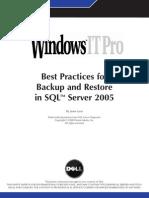 Sql2005 Backup Wp