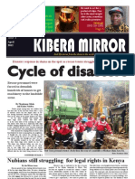 Kibera Mirror April