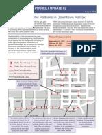 Original Plan for New traffic patterns, downtown Halifax