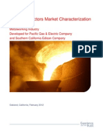 Final Metalworking Market Characterization Report