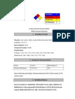 Material Safety Data Sheet Natrium Hidroksida
