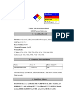 Material Safety Data Sheet Natrium Hidroksida