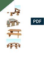 Móveis de tijolo