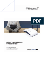 Hawking HWREN1 Wireless-300N Range Extender Manual