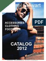 Michael Stewart Menswear Product Catalog