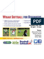 Wigan Softball For Beginners
