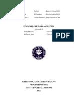 Laporan Uji Pengenalan Organoleptik