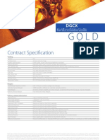 Gold Future Contract Spec Oct08