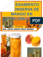 Conserva de Mangos Jjfr