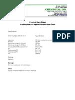 Chemtotal CMHPG Spec