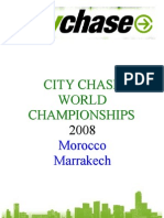 City Chase World Championship 2008 - Marrakech