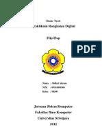 Praktek Rangkaian Digital - Flip Flop