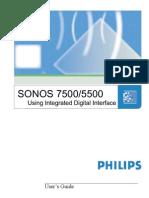 Philips Sonos 5500 Manual