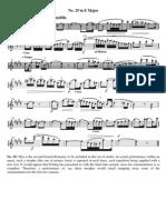 Oboe study 29. Furling